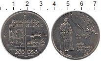 Изображение Мелочь Португалия 200 эскудо 1992 Медно-никель UNC-