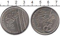 Изображение Монеты Португалия 200 эскудо 1999 Медно-никель UNC-