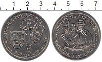 Изображение Монеты Португалия 200 эскудо 1997 Медно-никель UNC