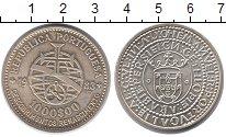 Изображение Монеты Португалия 1000 эскудо 1983 Серебро UNC XVII  европейская  х