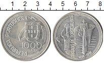 Изображение Монеты Португалия 1000 эскудо 1994 Серебро UNC