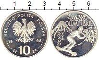 Изображение Монеты Польша 10 злотых 1998 Серебро Proof