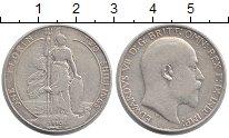Изображение Монеты Великобритания 1 флорин 1910 Серебро VF
