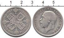 Изображение Монеты Великобритания 1 флорин 1929 Серебро VF