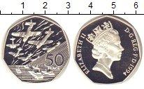 Изображение Монеты Великобритания 50 пенсов 1994 Серебро Proof