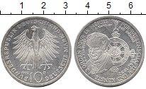 Изображение Монеты ФРГ 10 марок 1992 Серебро UNC- `150 лет основания г
