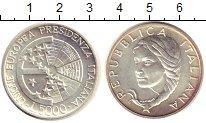 Изображение Монеты Италия 5000 лир 1996 Серебро UNC Председательство  Ит