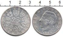 Изображение Монеты Австрия 25 шиллингов 1969 Серебро UNC Австрийский писатель
