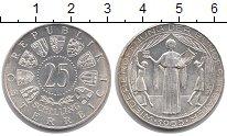 Изображение Монеты Австрия 25 шиллингов 1955 Серебро XF