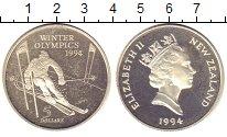 Изображение Монеты Новая Зеландия 5 долларов 1994 Серебро XF