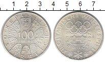 Изображение Монеты Австрия 100 шилингов 1976 Серебро XF