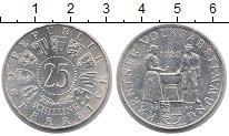 Изображение Монеты Австрия 25 шиллингов 1960 Серебро UNC
