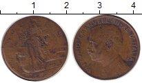Изображение Монеты Италия 2 сентесими 1915 Медь VF