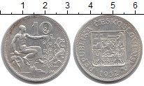 Изображение Монеты Чехословакия 10 крон 1932 Серебро XF Аллегория  Республик