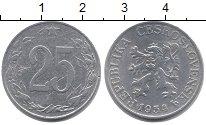 Изображение Монеты Чехословакия 25 хеллеров 1954 Алюминий XF