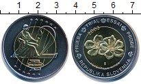Изображение Мелочь Словения 2 евро 2003 Биметалл UNC
