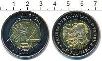 Изображение Мелочь Люксембург 2 евро 1999 Биметалл UNC