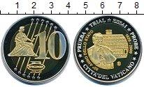 Изображение Мелочь Ватикан 10 евро 2009 Медь UNC