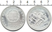 Изображение Монеты Греция 500 драхм 1982 Серебро Proof-