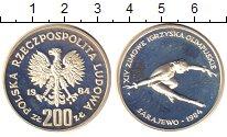 Изображение Монеты Польша 200 злотых 1984 Серебро Proof-
