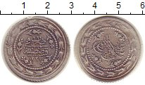 Изображение Монеты Турция 1 1/2 куруш 1834 Серебро VF