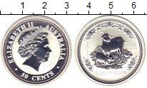 Изображение Монеты Австралия 50 центов 2003 Серебро Proof Елизавета II.  Год