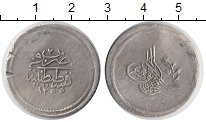 Изображение Монеты Турция 1 1/2 куруш 1841 Серебро VF