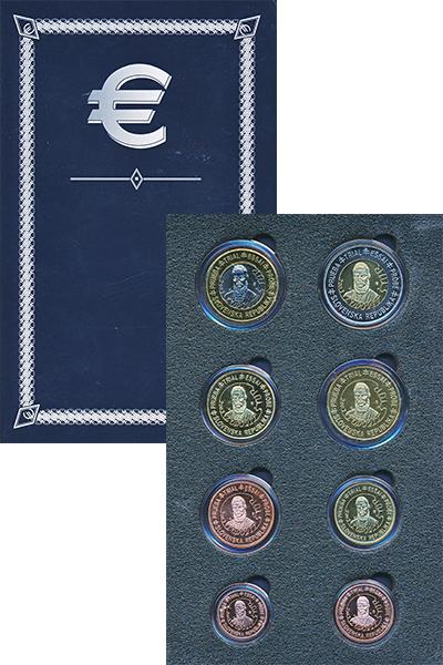 Изображение Подарочные монеты Словакия Европроба 2003 2003  UNC