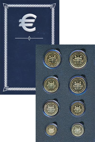 Изображение Подарочные наборы Ватикан Европроба 2011 2011  UNC