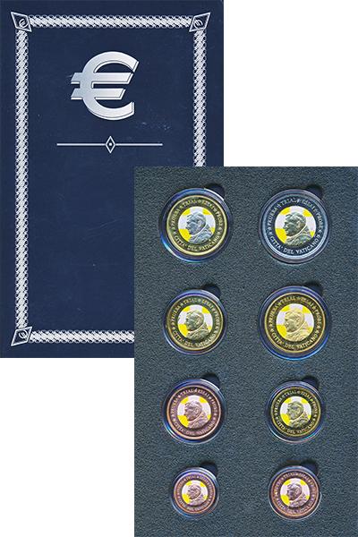 Изображение Подарочные монеты Ватикан Европроба 2007 2007  UNC