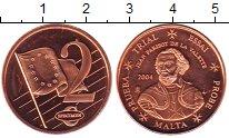 Изображение Монеты Мальта 2 цента 2004 Бронза UNC-