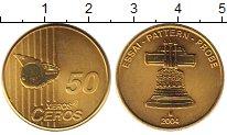 Изображение Монеты Германия 50 евроцентов 2004 Латунь UNC ПРОБА.