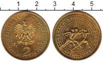 Изображение Монеты Польша 2 злотых 2004 Латунь UNC- Спорт: XXVIII летние