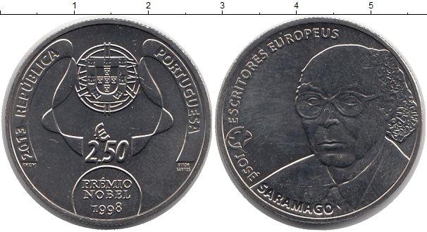 Картинка Монеты Португалия 2 1/2 евро Медно-никель 2013