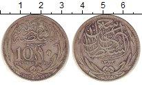 Изображение Монеты Египет 10 пиастров 1917 Серебро VF