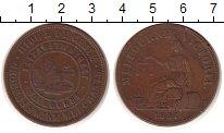 Изображение Монеты Канада 1 пенни 1857 Медь XF Мельбурн.