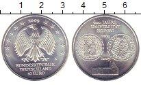 Изображение Монеты Германия 10 евро 2009 Серебро UNC- 600  лет  Университе
