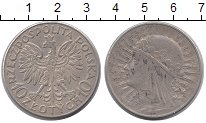Изображение Монеты Польша 5 злотых 1932 Серебро VF