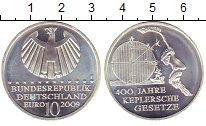 Изображение Монеты Германия 10 евро 2009 Серебро UNC- 400  лет  законам  К