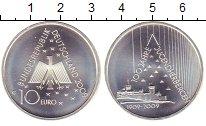 Изображение Монеты Германия 10 евро 2009 Серебро UNC- `100  лет  сети  хос