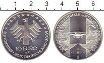 Изображение Монеты Германия 10 евро 2009 Серебро UNC- 100  лет  авиавыстав