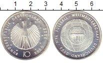 Изображение Монеты Германия 10 евро 2006 Серебро UNC- Чемпионат  мира  по