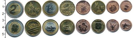 Изображение Наборы монет Монако Евронабор 2012 Монако 2012  UNC 1,2,5,10,20,50 серос