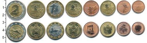 Изображение Наборы монет Лихтенштейн Евронабор 2004 Лихтенштейн 2004  UNC 1,2,5,10,20,50 серос
