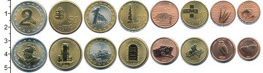 Изображение Наборы монет Аруба Евронабор2007 Аруба 2007  UNC