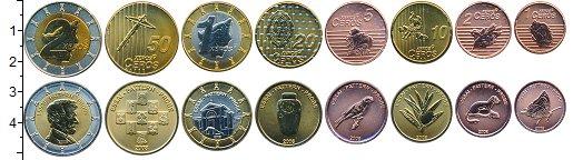 Изображение Наборы монет Сан-Марино Евронабор 2008 Сан-Марино 2008  UNC 1,2,5,10,20,50 серос