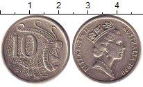 Изображение Барахолка Австралия 10 центов 1990 Медно-никель XF