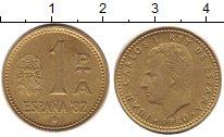 Изображение Дешевые монеты Испания 1 талер 1980 Латунь XF