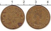 Изображение Барахолка Гонконг 1 цент 1975 Медь XF