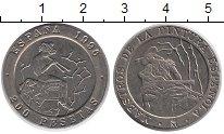 Изображение Монеты Испания 200 песет 1996 Медно-никель XF
